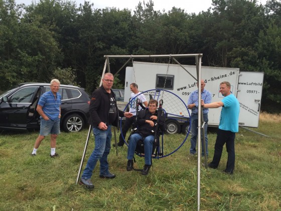 Kleines Testival in den Niederlanden bei Hans