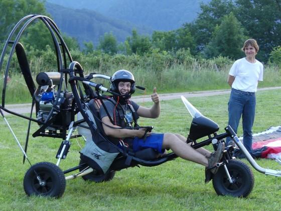 Trike mit ParaZoom 4 Takter