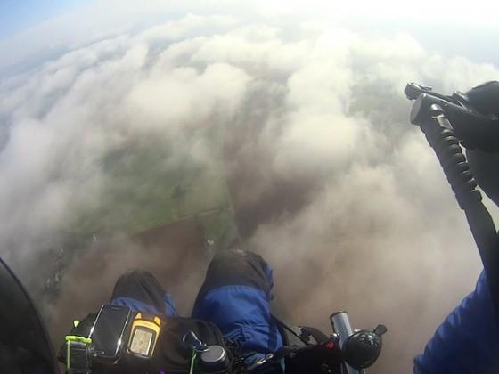 ........über den Wolken