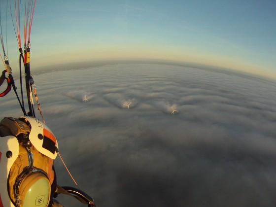 Windmühlen und Wolken, oder nebel.....????